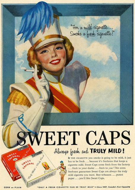 vintage everyday Bizarre Tobacco Advertising from 1920s1930s