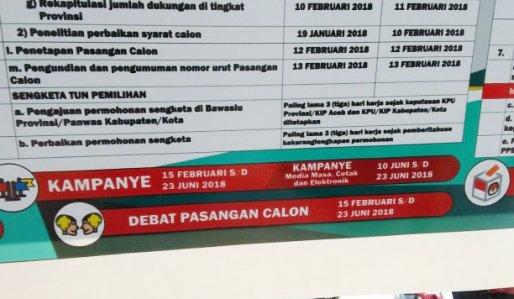 Tahapan Pilkada Serentak 2018, Diumumkan KPU Sulsel