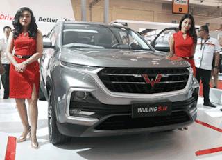 Model SUV Wuling Almas
