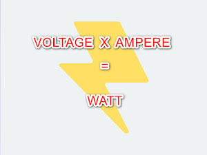 Mengenal Apa Itu Voltase, Watt dan Ampere Dalam Kelistrikan
