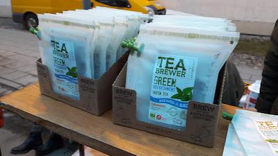 Ekologiška arbata plikymo maišeliuose