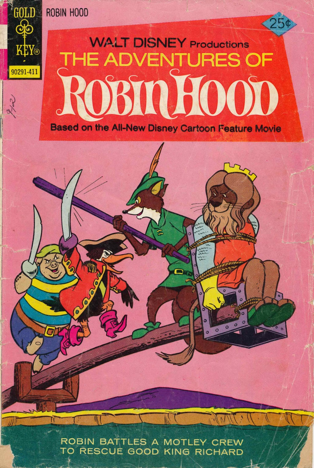 The Adventures of Robin Hood issue 6 - Page 1