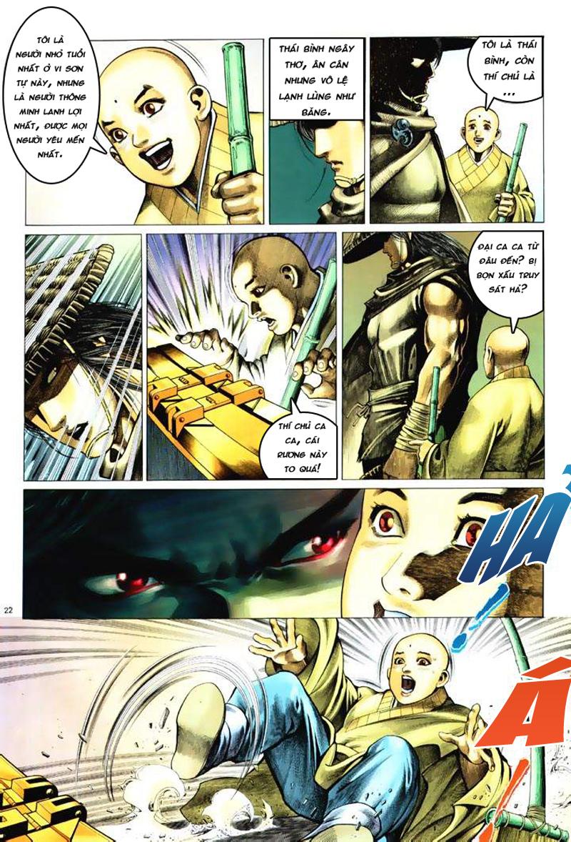 Anh hùng vô lệ Chap 6: Anh hùng hữu lệ trang 22