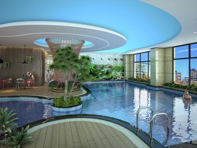 Bể bơi bốn mùa tiện nghi