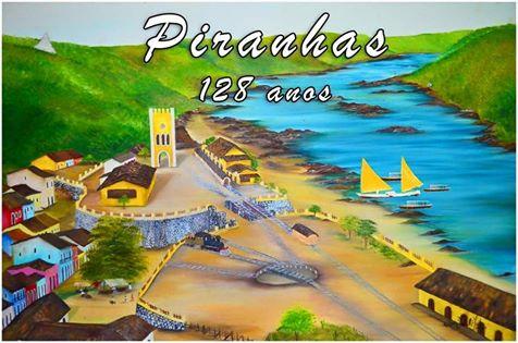 Piranhas  comemora 128 anos de emancipação no próximo dia 3