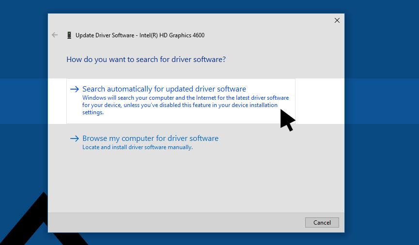 Intel Graphics Card Driver Update Windows 10
