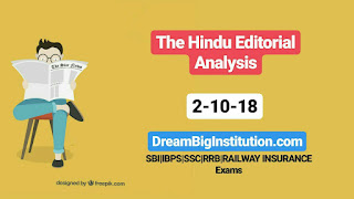 The Hindu Editorial With Important Vocabulary (2-10-18)