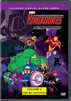 Os Vingadores Os Super Heróis Mais Poderosos da Terra Vol 08