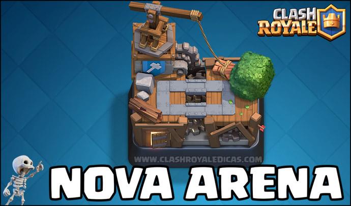 Sneak Peek #01 - Nova Arena (Oficina do Construtor) - 1