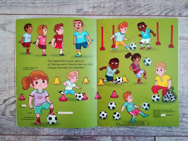 || Sélection de livres sur le sport - Mes docs à coller Le football