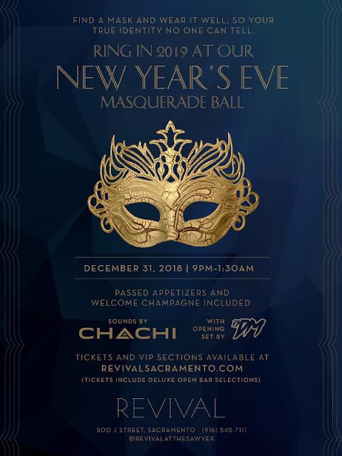 New Year at The Revival - Masquerade