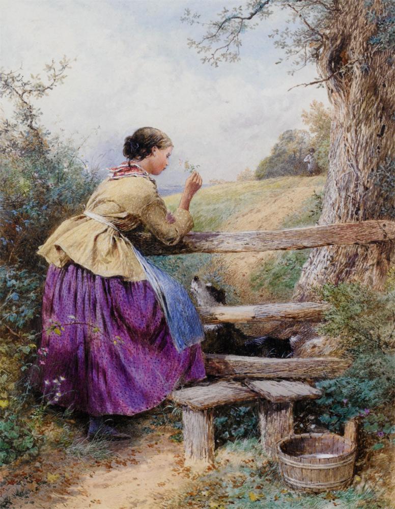 Victorian British Painting Myles Birket Foster Ctd