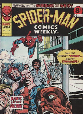 Spider-Man Comics Weekly #135