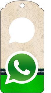 Para marcapáginas de WhatsApp.