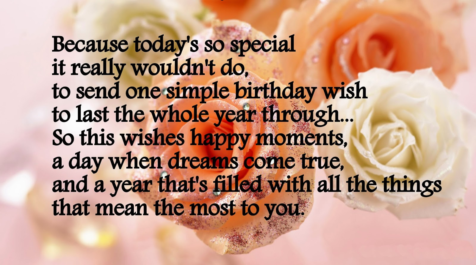 Birthday Wishes For Lover With Wallpapers Poetry Likers