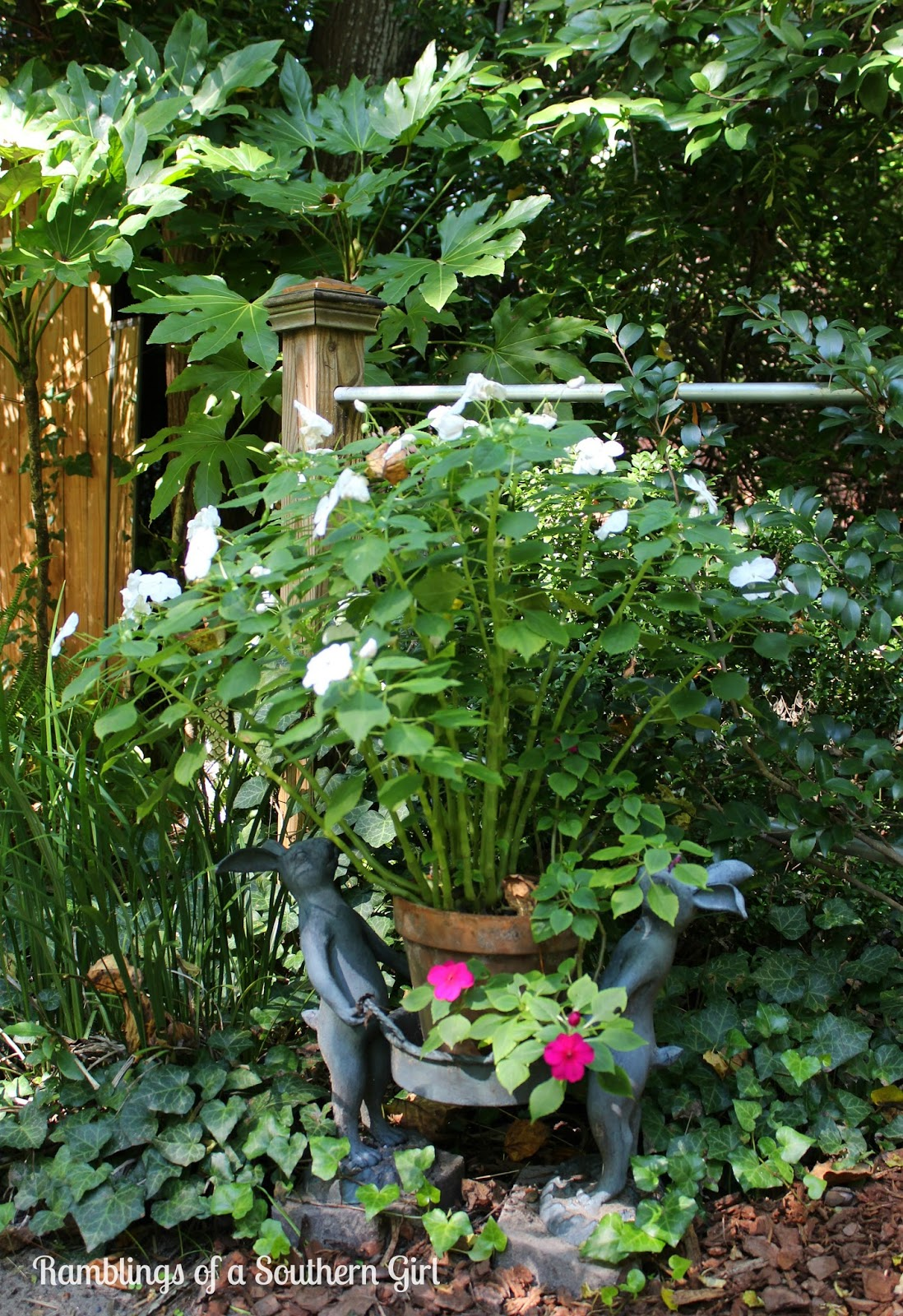 Garden Tour Fifty Shades Of Green: Ramblings Of A Southern Girl: Secret Garden Tour Part Two