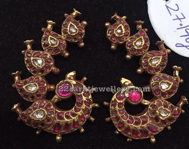 10 Different Style Kundan Jhumkas Chandbalis