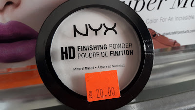 NYX HD Finishing Powder www.modenmakeup.com