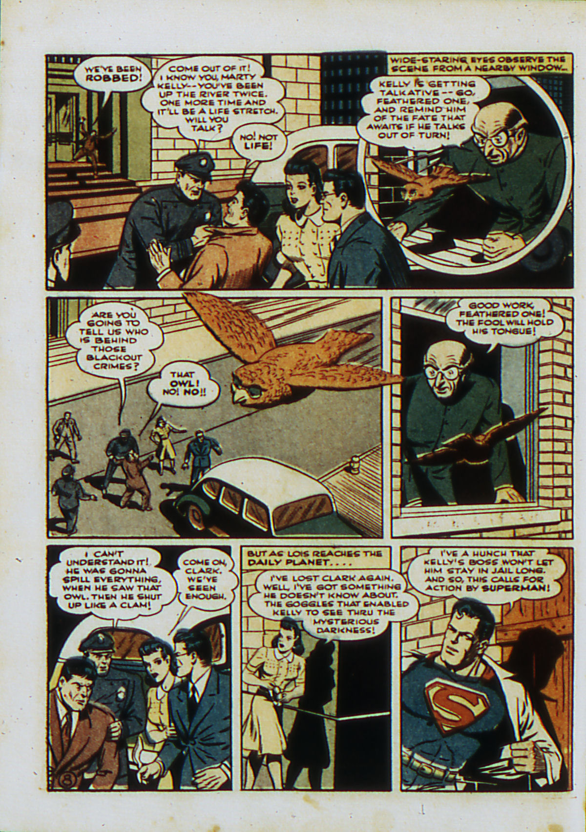 Read online Action Comics (1938) comic -  Issue #53 - 11