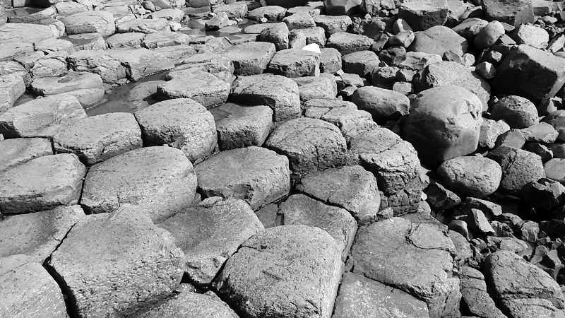 The Giant's Causeway, Northern Ireland. Tour of Ireland Photo Diary on Ginevrella