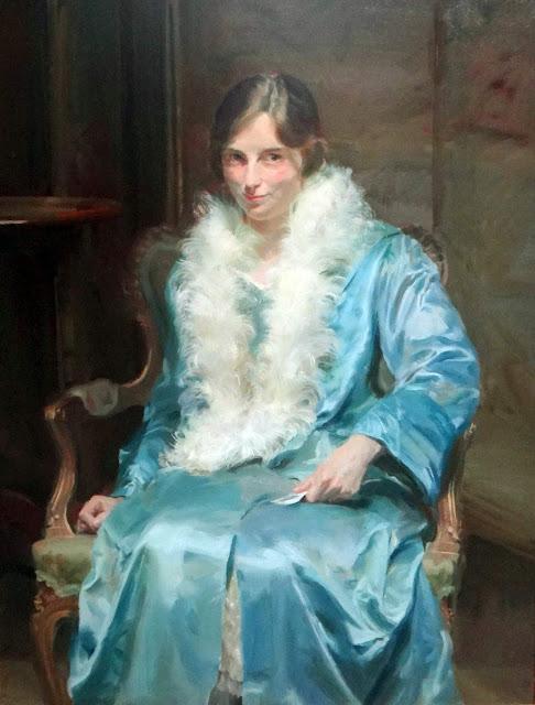 Portrait of Miss Kathleen Chambers, International Art Gallery, Self Portrait, Art Gallery, Douglas Stannus, Portraits of Painters, Fine arts, Self-Portraits, Painter Douglas Stannus