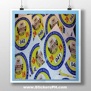 Subdivision Stickers - Metrogate, Dasmarinas, Cavite