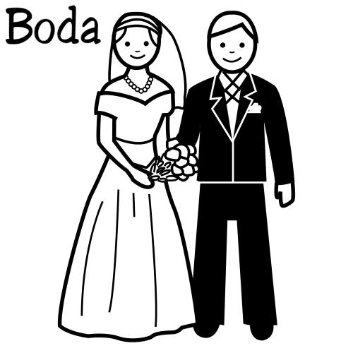 Matrimonio Catolico Para Dibujar : Boda para colorear dibujos y pintar gratis