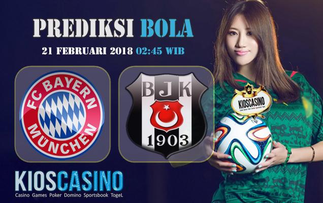 Prediksi Bayern Munchen vs Besiktas 21 Februari 2018