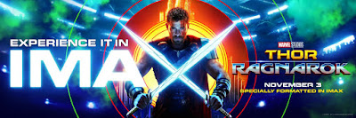 Marvel's Thor Ragnarok IMAX Theatrical Movie Banner