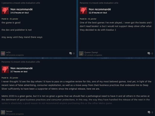 اللاعبين على خدمة Steam ينفجرون بوجه المطورين بسبب توفير لعبة Metro Exodus حصريا على متجر Epic