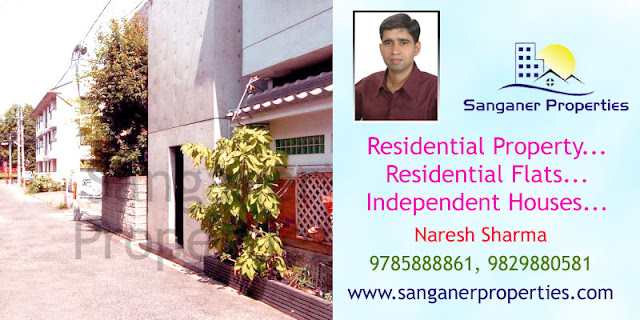 Independent House for sale in Sanganer Near Mansarovarr Road