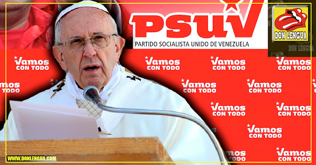 El Papa Comunista dice que quiere mediar entre ambas partes en Venezuela