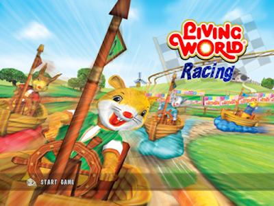 卡通世界大賽車(Living World Racing),可愛小動物造型賽車!