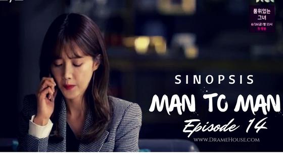Sinopsis man to man korean drama Episode 14 - Ghost Sunbaenim