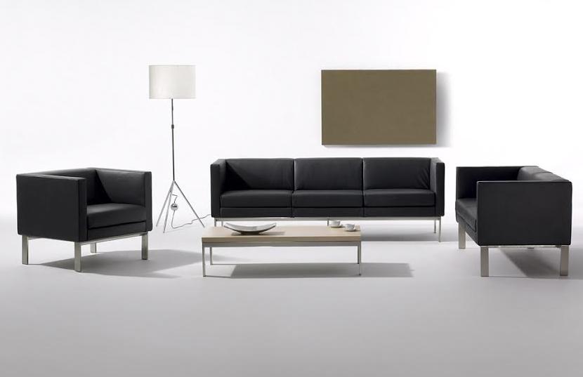 Sof s de oficina toque de confort y elegancia for Sofa oficina