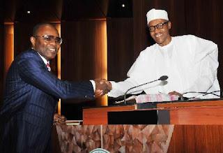 Buhari and Ibe kachikwu
