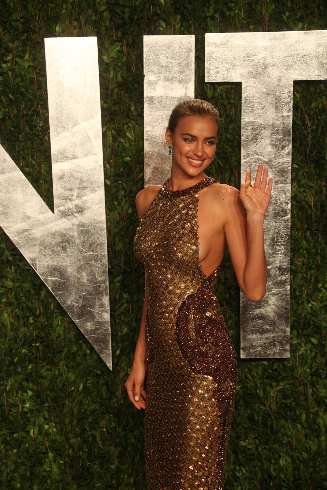 Irina Shayk  Vanity Fair Oscar Party 2012 - Models -4819