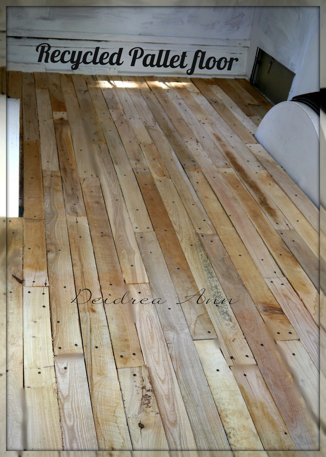 Bitch with a Hitch: RECYCLED WOOD FLOORING
