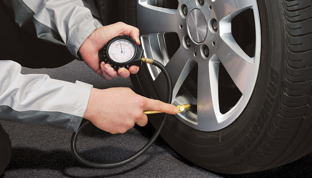 Check your tyres pressure