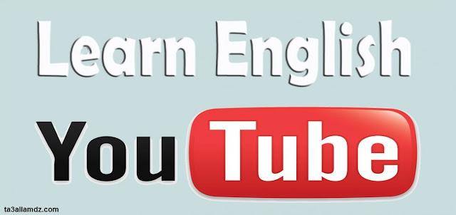 youtube learn english