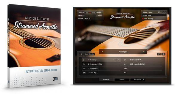 NI Strummed Acoustic Guitarra Acústica VST