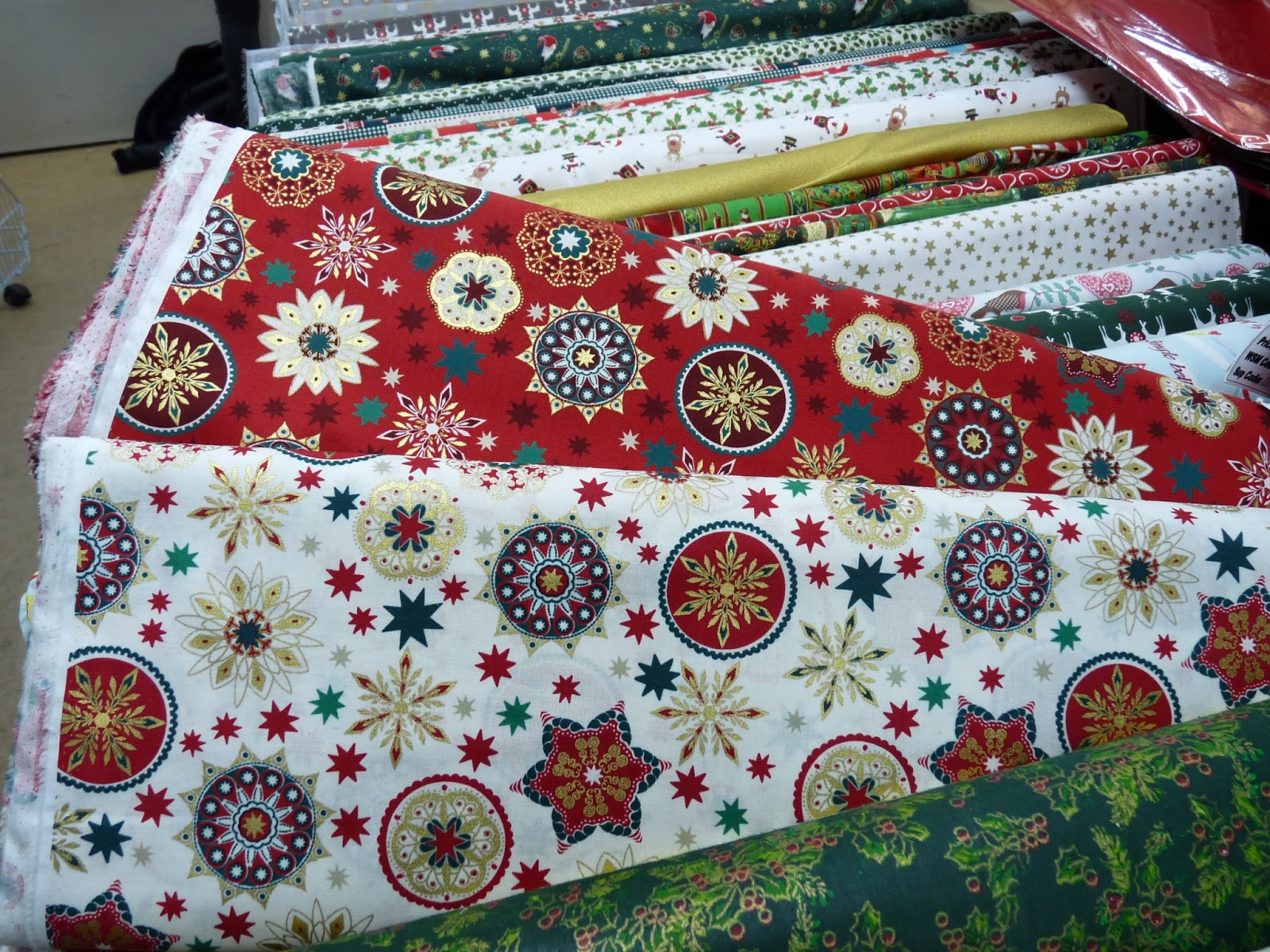 The London Dressmakers Club Christmas Fabric For Gifts And Garments