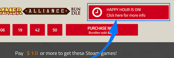 Indiegala Happy Hour