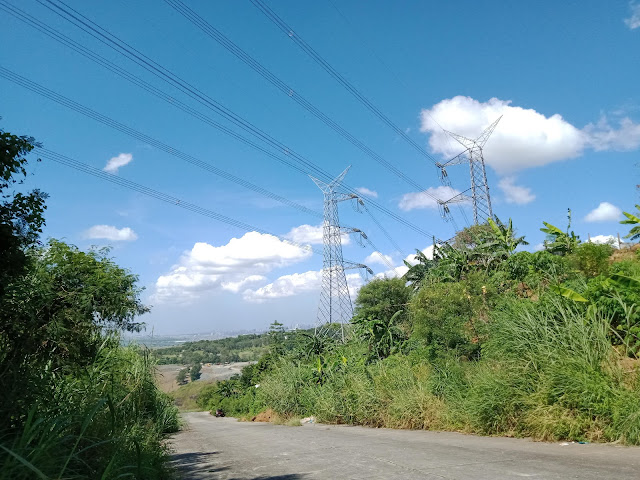 Edge or end of the road for Botong Francisco Road