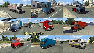 Jazzycat - Truck Traffic Pack 2.0