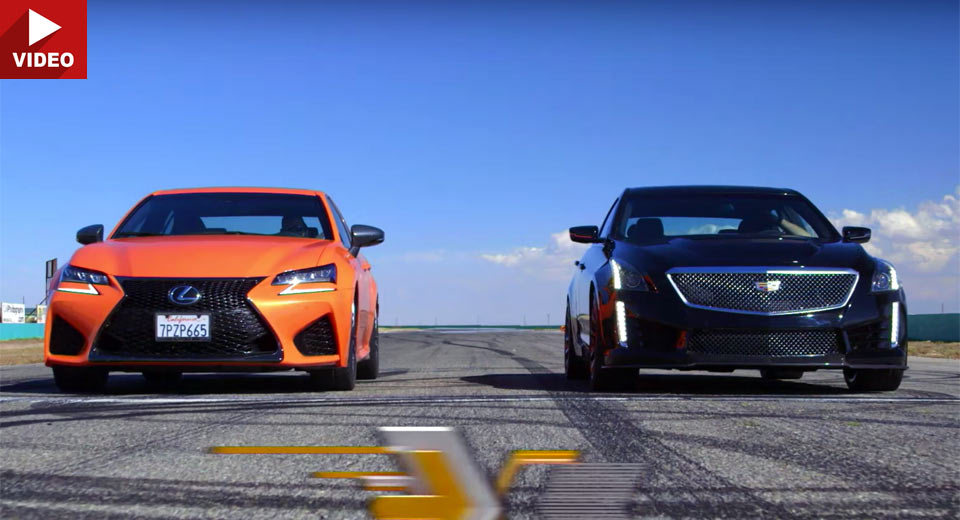 Can The Lexus GS F Hold Its Own Against The Cadillac CTS-V?