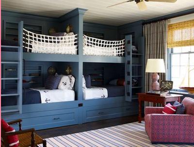 dormitorio para 4 niños
