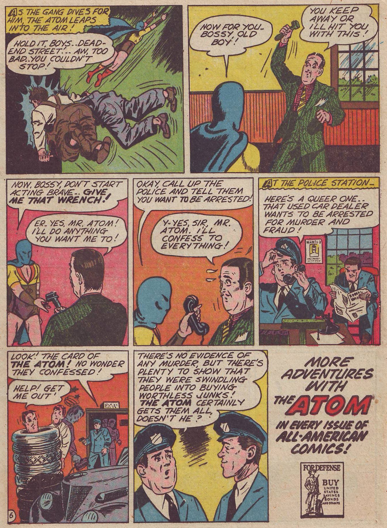 Read online All-American Comics (1939) comic -  Issue #37 - 31