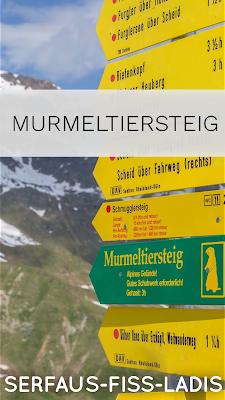 Wanderung zum Furglersee | Murmeltiersteig Lazid - Kölner Haus | Wandern Serfaus Fiss Ladis | Schöne Wanderungen in Tirol | Tourentipp mit GPS-Track