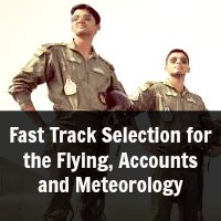 Fast Track Selection for the Flying, Accounts and Meteorology